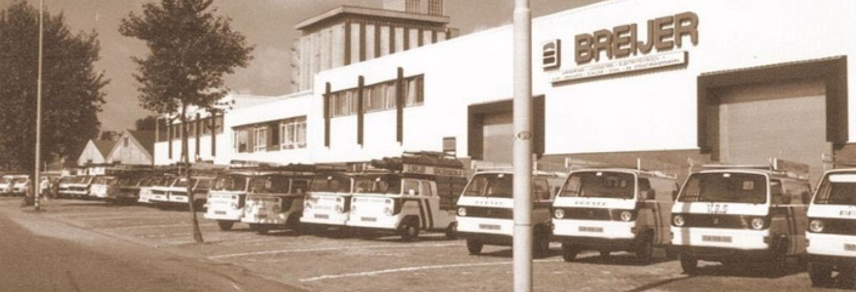 Voormalige hoofdkantoor Breijer aan de Maashaven NZ te Rotterdam,