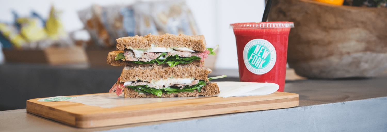 New Fork sandwich