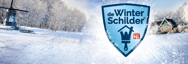 Winterschilderactie 2021 bij Breijer Schilders.