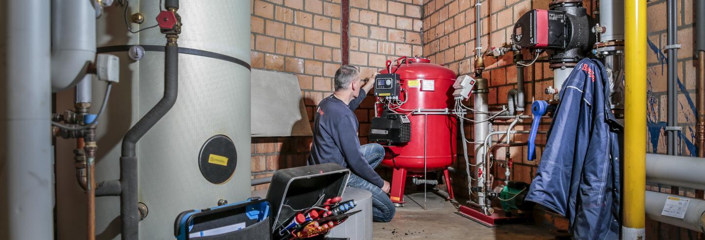 Verwarmingstechniek bij Breijer.