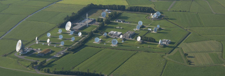Inmarsat Teleport schotels