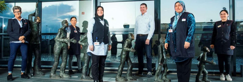 Vijf Gom medewerkers bij de Sociale Verzekeringsbank