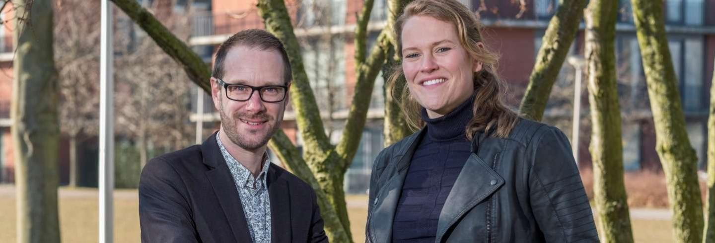 Marko Holtkamp en Julie Zwet