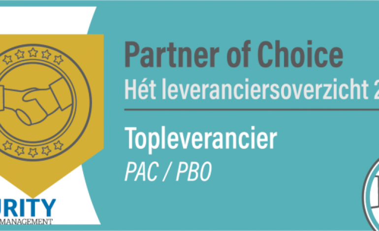 Afbeelding Partner of Choice Security Management 2020